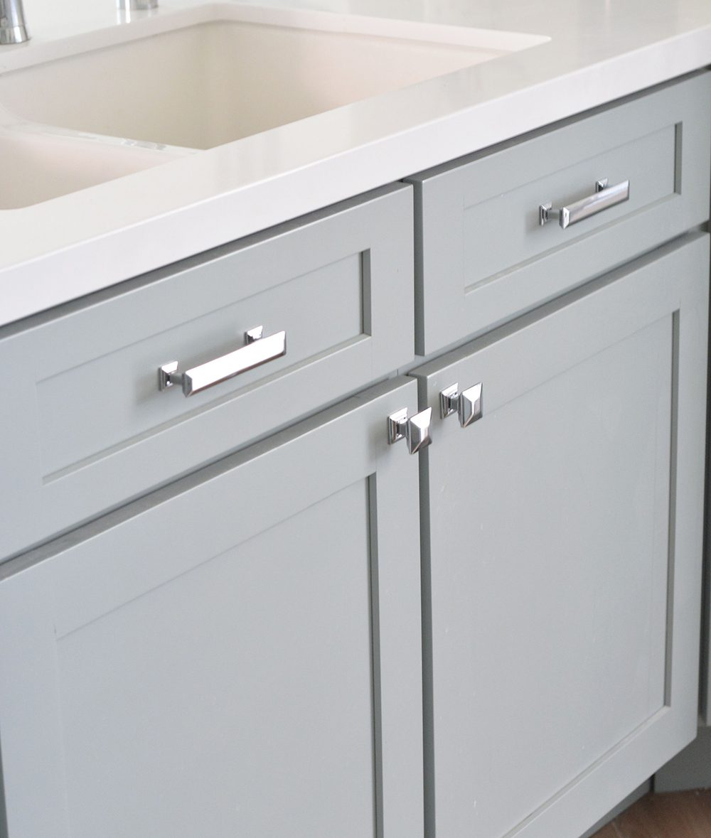 Update your residential rental property with budget friendly cabinet knobs and drawer pulls